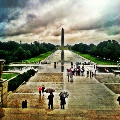 Washington Monument and Reflecting Pool - Washington D.C.