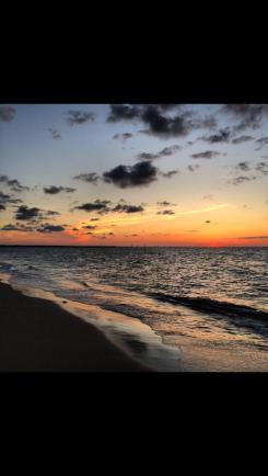 Sunrise in Virginia Beach. Never got old!