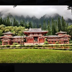 Buddhist temple in Hawaii