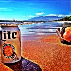 Cold beer & sunshine!