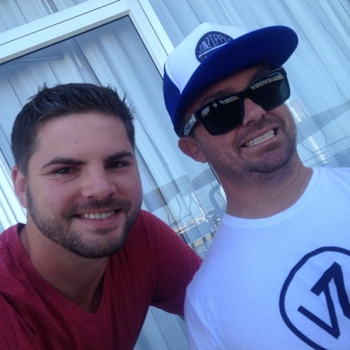 Ran into WeeMan in VA Beach!